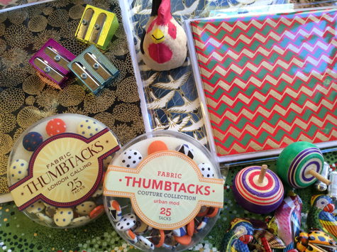 Rooster & Thumb Tacks